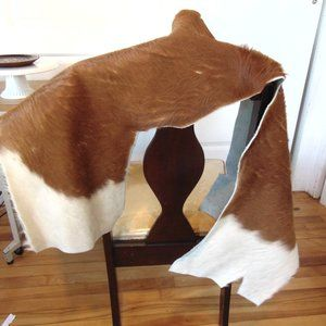 Cow Leather - Full Leather Piece - Tanned Backside